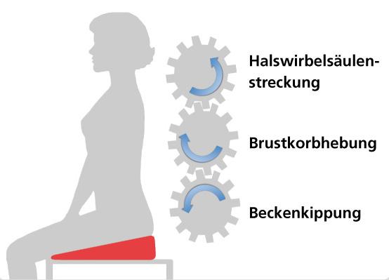 Keilkissen Entlastend Für Den Rücken Trimilin Trampolin