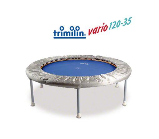 Minitrampolin Vario 120-35 mit Randbezug und Vario System