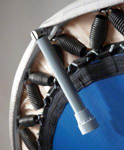Trampolin Trimilin-med plus mit Stahlfeder und Klappbeine