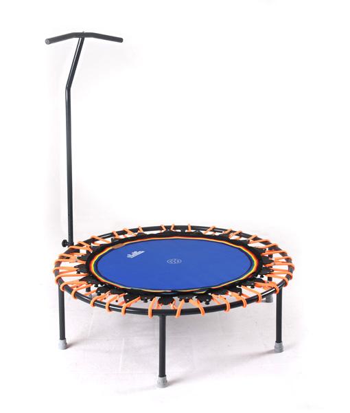 Trampolin Trimilin-jump mit Haltestange, Gummikabel orange