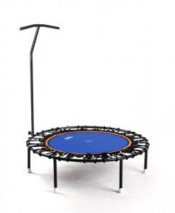Trampolin Trimilin-jump mit Haltestange, Gummikabel schwarz