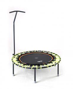 Trampolin Trimilin-jump mit Haltestange, Gummikabel neongelb